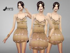 Sims 4 CC's - The Best: Dress by MissFortune