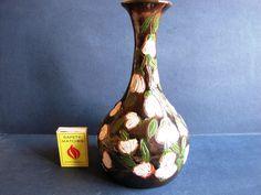 Vintage pottery Vase Home Decor signed by artist RS 86  #269