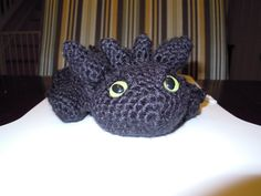 Free Crochet Patterns For Vintage Dolls : Toothless/Night Fury on Pinterest Toothless, How To ...