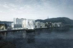 Gallery of RSAA's Artcube Proposal Accentuates, Preservers, and Modifies Historical Silo in Norway - 1