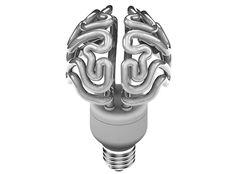 Energy Efficient Brain Bulb by solovyovdesign