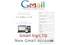Gmail Sign Up - Create Gmail Account | New Account - Kikguru