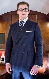Kinsman elegant suit   Blue suit men, Kingsman suits, Navy