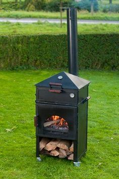 Our home made oven grill BBQ and fireplace named Culina Flamma