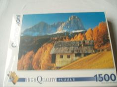 Clementoni 1500 Piece Jigsaw Puzzle South Tyrolean Scene  Art 31562 84.2cm x 59.2cm - This is for sale to U.K. buyers only Clementoni http://www.amazon.co.uk/dp/B0045J33LK/ref=cm_sw_r_pi_dp_DLHnwb0YTVWYQ