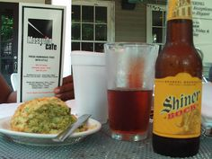 Shiner Bock is very good Texan beer!