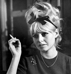 Brigitte Bardot- i love her hair