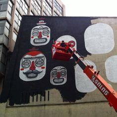 regram @graffitiworldtv @misterthoms work in progress - Day 2. @arca_mx @gruassalas  #Graffitiworld #MrThoms #ArcaMx #streetart #urbanart #spraypaint #graffiti #character #instalike #streetartandgraffiti #instagood #news #graffitiart #mural #wall #instagraff #instagraffiti #artwork #art #urbanwall #muralart #streetarteverywhere #streetartphotography #thisisstreetart #graffitimexico #streetartmexico