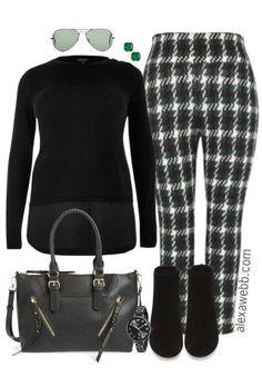 Plus Size Fall Work Outfit - Plus Size Fashion - alexawebb.com #alexawebb