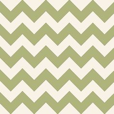 Sage Chevron Pattern Art Print by JustImagine