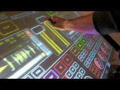 Emulator: DJ Multitouch Console