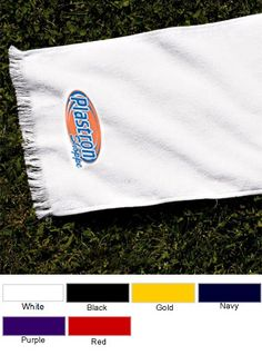 Ideal if you are playing games at your company picnic.  Customize them with your corporate logo or even personalize them with names! Anvil Fringed Embroidered Corporate Spirit Towel $11.17