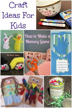 Crafts for Kids #KidsCrafts