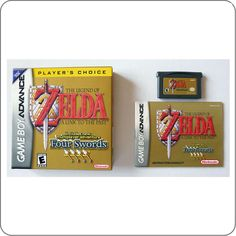GBA The Legend of Zelda A Link To The Past + Four Swords - Game Quest Store