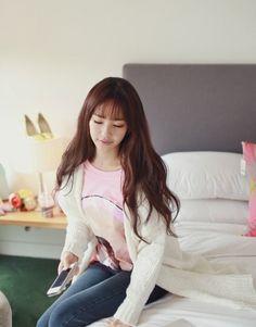 19.52$  Buy here  - Korean Fashion Women Cardigan Pockets Long Loose Knitting Sweater Outerwear White