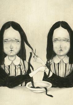 MONICA BARENGO: Di capelli un cadere fragile