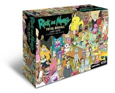 Rick And Morty Total Rickall Card Game https://amazingmusthaves.com/products/rick-and-morty-total-rickall-card-game/
