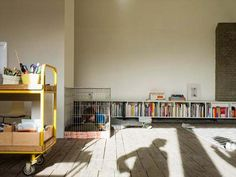 Cubbies for books