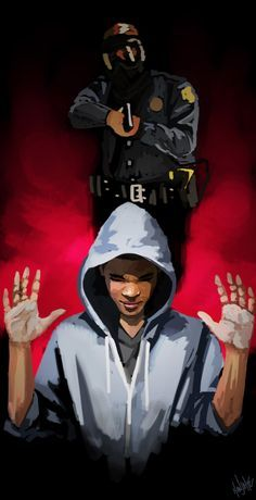 police My art justice police brutality Social Justice Trayvon Martin Justice For Trayvon police shooting political art hanjihye black lives matter michael brown justice for mike brown furgeson Darren WIlson tamir rice