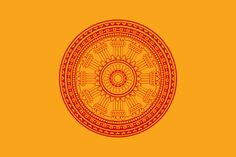 (Thailand) Thai Buddhist Flag: Like a lot of Thai flags, complex yet simple. Intricate line drawing but with only two colours. Most complex design for the Dharma Wheel American Flags For Sale, Thailand Flag, Dharma Wheel, Best Flags, Best Led Grow Lights, Buddhist Prayer, Flag Art, Prayer Flags, Alternate History