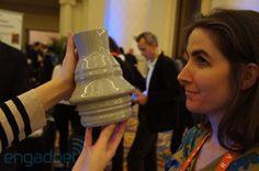 3D портрет-ваза