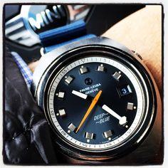 Deep Blue. Vintage Rolex, Vintage Watches, Favre Leuba, Deep Blue, Chronograph, Omega Watch, Clock, Tic Tac, Jewelry
