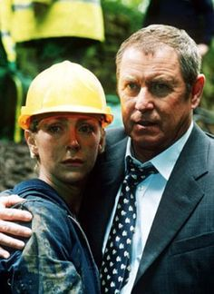 Midsomer Murders - The Green Man. The hand holding Joyce and Tom