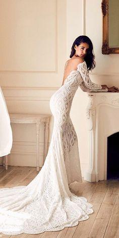 Fantasy Wedding Dresses From Top Europe Designers ★ See more: https://weddingdressesguide.com/fantasy-wedding-dresses/ #bridalgown #weddingdress
