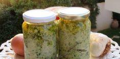 Απίθανο Αρωματικό Καρύκευμα για όλα τα φαγητά κατσαρόλας φούρνου! Pickles, Dips, Mason Jars, Sauces, Dipping Sauces, Pickle, Dip, Canning Jars, Pickling