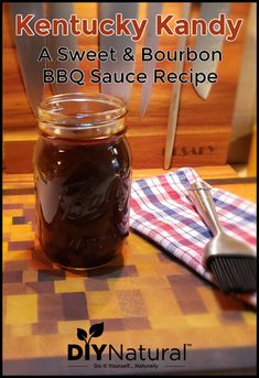 This is a recipe that I& fine-tuned over the years. It is a Kansas City BBQ sauce-meets-Kentucky BBQ sauce recipe. It& perfectly sweet, spicy, and smoky! Kentucky Bbq Sauce Recipe, Bourbon Bbq Sauce Recipe, Homemade Bbq Sauce Recipe, Barbecue Sauce Recipes, Grilling Recipes, Bbq Sauces, Smoker Recipes, Rib Recipes, Kansas City Barbecue Sauce Recipe