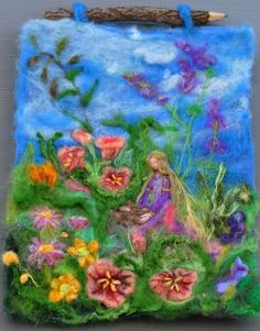 Felting by Daria Ivovsky (found on Etsy)
