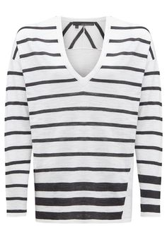 360 SWEATER Bourbon Sweater - Cunder Stripes