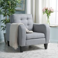 Shop For Sorrento Fabric Club Chair By Christopher Knight Home. Get Free  Shipping At Overstock · Furniture OutletOnline ...