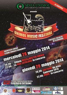 Programma Unimol Music Festival