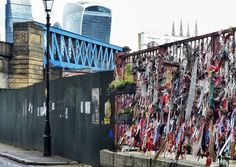 Spotted this votive wall off Union Street in Southwark.