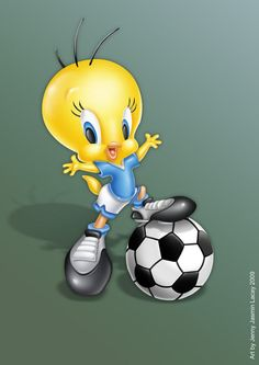 Tweety baby ball