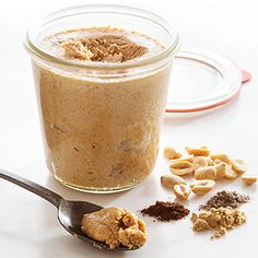 Find healthy, delicious homemade nut butter recipes such as almond butter, cashew butter, peanut butter and even no-nut butter, from the food and nutrition experts at EatingWell. Coconut Milk Smoothie, Vegetarian Protein, Homemade Butter, Homemade Recipe, Chai, Peanut Butter Recipes, Almond Butter, Butter Pecan, Food Menu