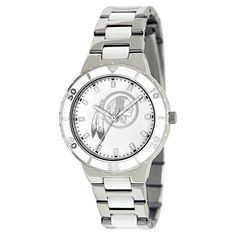 Women's Game Time NFL Pearl Sports Watch - Silver - Houston Texans