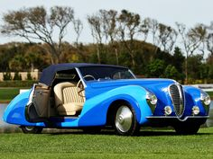 Delahaye 135 MS Cabriolet by Faget Varnet '1948 Produced in 2 copies