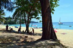 Surin Beach in Phuket - Quiet beach with luxury hotels