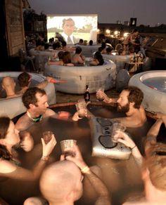 Hot tub cinema - Netil House