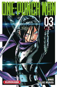 One-punch man. 3, La rumeur Paru en 2016 aux éditions Kurokawa par Yusuke Murata  Saitama est tellement puissant qu'il vient à bout des monstres les plus farouches d'un seul coup de poing.