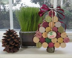 Wine Cork Christmas Crafts | Wine Cork Christmas Tree | Crafts-gifts
