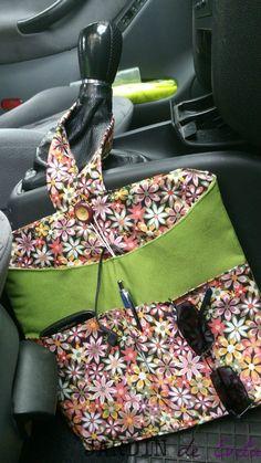 Cómo hacer un bolso organizador para el coche, es pequeño y muy práctico. Hazlo tu mismo.