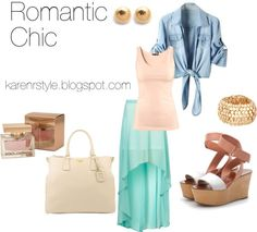 """""""Romantic Chic & Girly"""" by karenrstyling on Polyvore"""