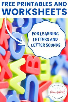 Free Printables and Worksheets for Learning Letters and Letter Sounds Teaching Letter Sounds, Teaching Letters, Polar Bear Coloring Page, Free Homeschool Curriculum, Homeschooling, Letter Sound Activities, Learning Sites, Money Saving Mom, Worksheets