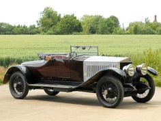 Sizaire-Berwick 25/50 Two-Seater and Dickey by Park Ward '1923