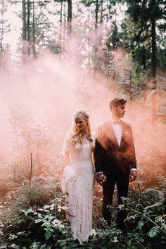 Whimsical Bohemian Wedding / Wedding Style Inspiration / LANE
