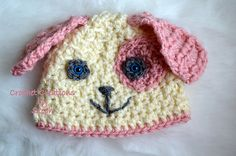 Ravelry: Textured Puppy Beanie pattern by Stephenie Hickok