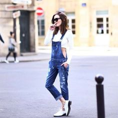 Our favorite cutie @Anouska Proetta Brandon is #flawless in GUESS #overalls.